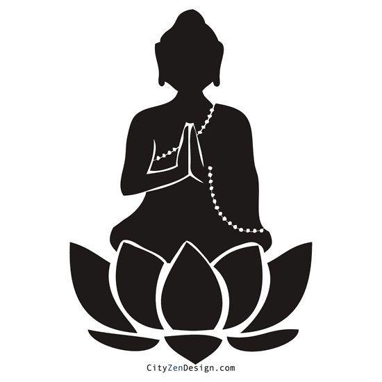 zen monk clip art