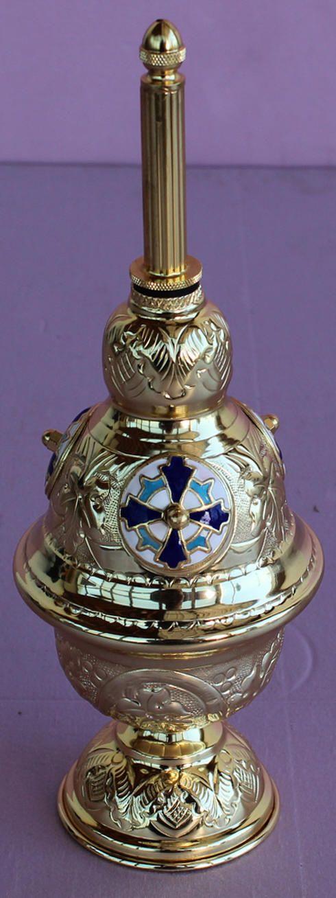 Holoviak's Church Supply, Inc. :: Church Item Catalog :: Holy Water Sprinklers :: SP-374 Holy Water Sprinkler