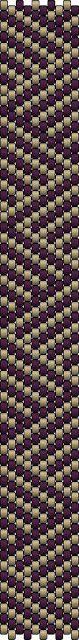 The Bead Guide: Bracelet Pattern: Illusory Lines