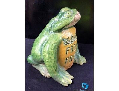 Bosley Frog - Freddo frog made by TG&AG.Bosley Mitchum South Australia , some faults