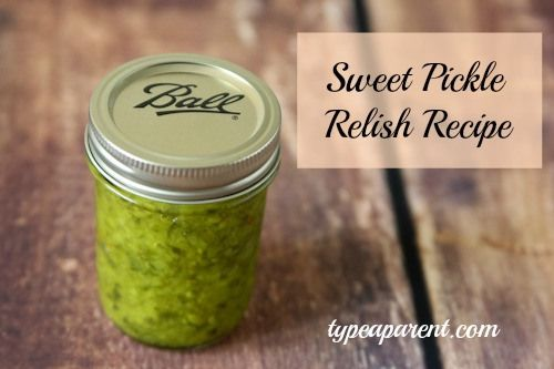 Sweet Pickle Relish Recipe | Canning | Pinterest