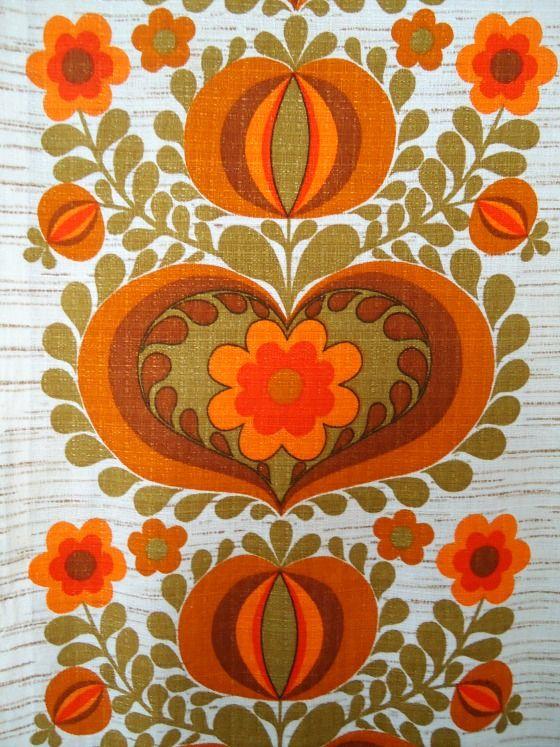 Mod •~• vintage Dekoplus fabric