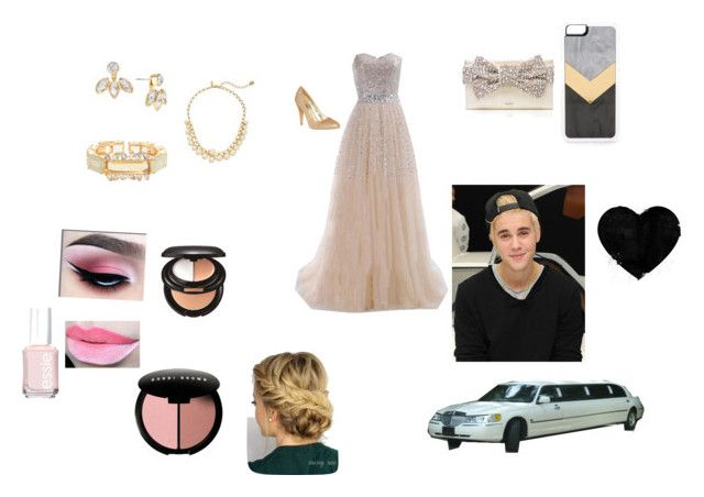 """""""prom"""" by charomg on Polyvore featuring Kate Spade, Zero Gravity, Bounkit, Essie, Sensai and Bobbi Brown Cosmetics"""