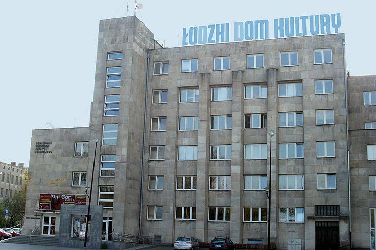 Łódzki Dom Kultury (ŁDK) Community Centre at Traugutta and Kilińskiego in Lodz, 1929-39,  project by Wiesław Lisowski