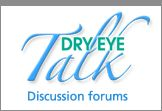 The Dry Eye Zone :: Information Center, discussion board and blog for those suffering with dry eye syndrome #eyehealth