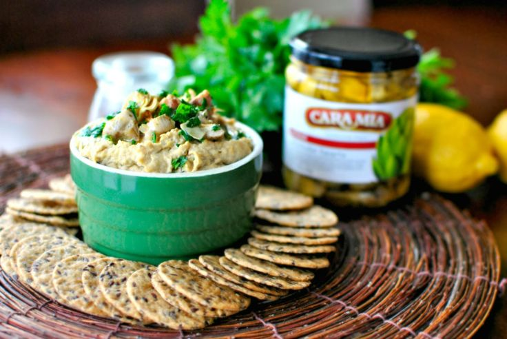 Grilled Artichoke Hummus by Simple Scratch
