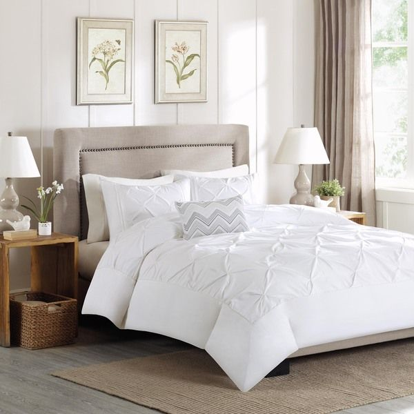 Madison Park Julia 4-Piece Cotton Duvet Cover Set - Overstock™ Shopping - Great Deals on Madison Park Duvet Covers