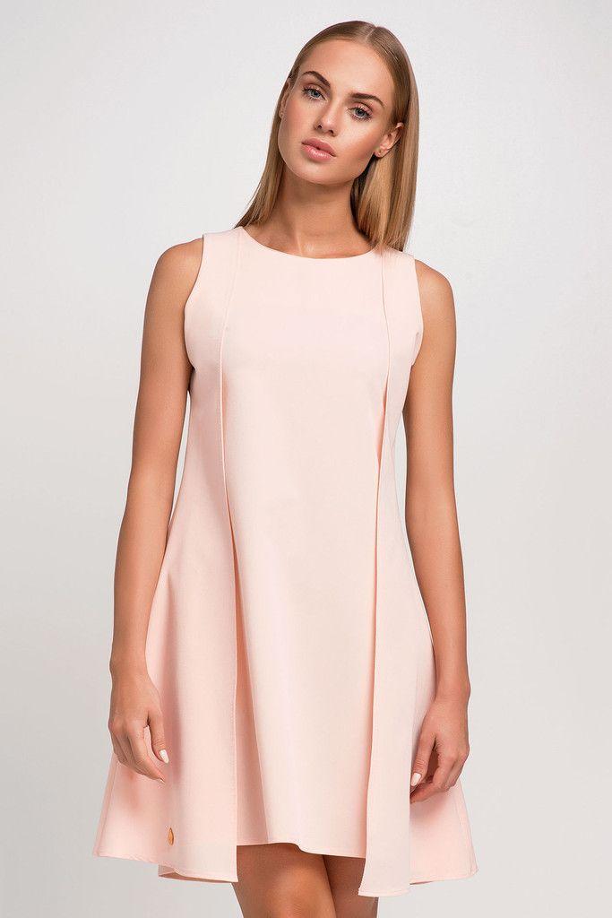 Sweet Light Pink Mini Dress