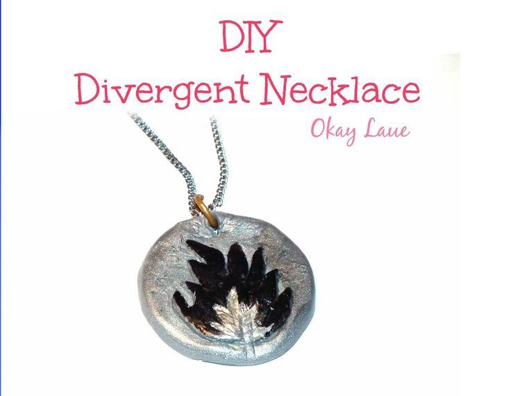 DIY Divergent Necklace (Dauntless)