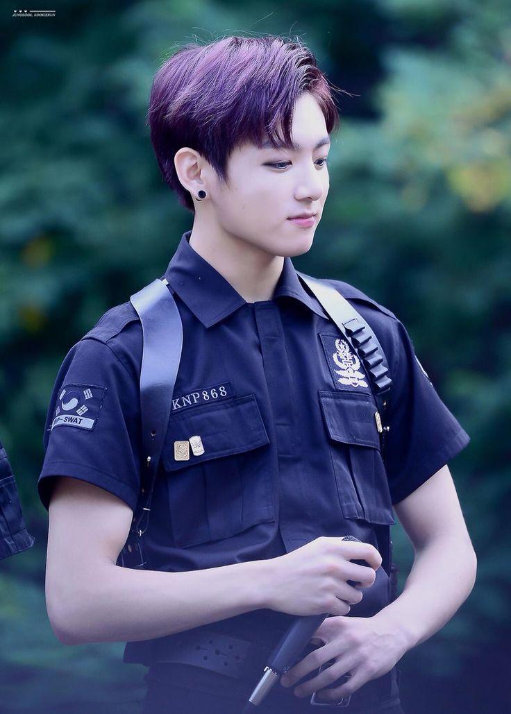 A man in uniform  #BTS #Jungkook #DOPE