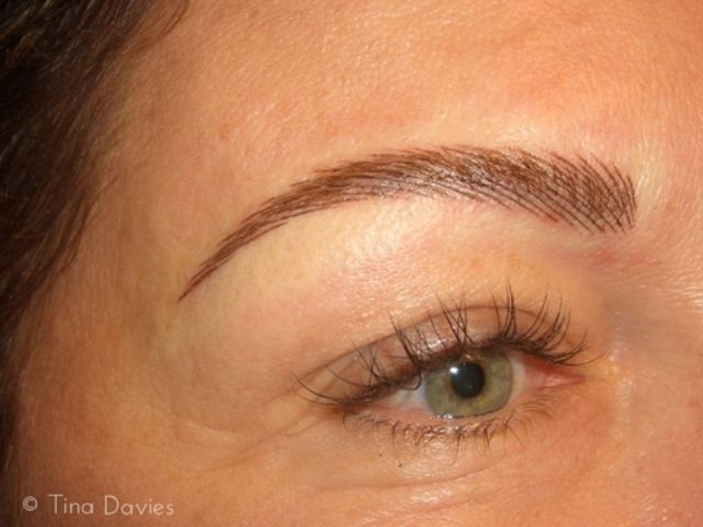 eyebrow shapes for permanent makeup | 3d Eyebrow Tattoo ...