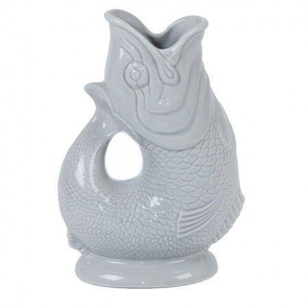 Dove Grey Gluggle Jug - £29.50