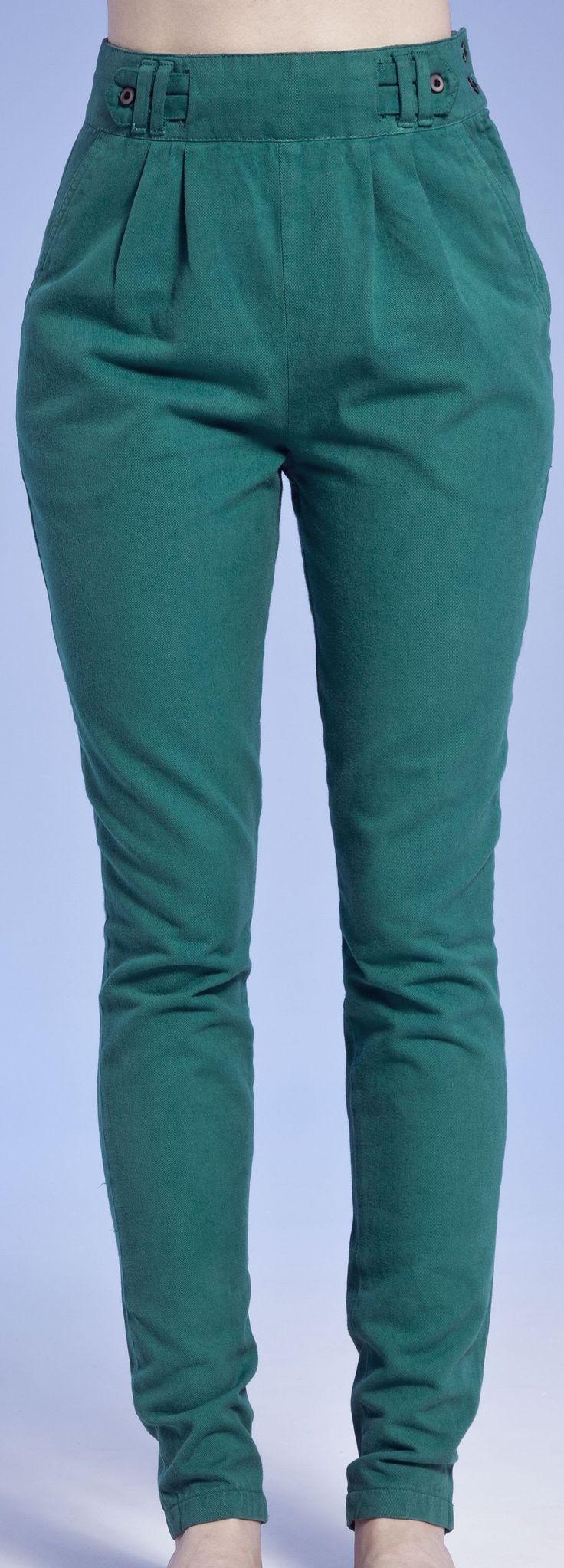 calça de sarja cintura alta - Pesquisa Google                                                                                                                                                     Mais