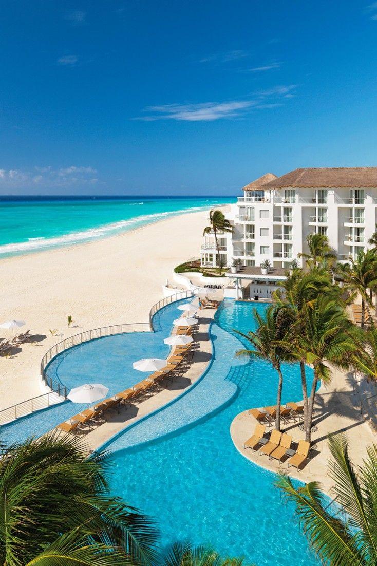 The beachfront Playacar Palace is an elegantly modern resort near downtown Playa. #Jetsetter