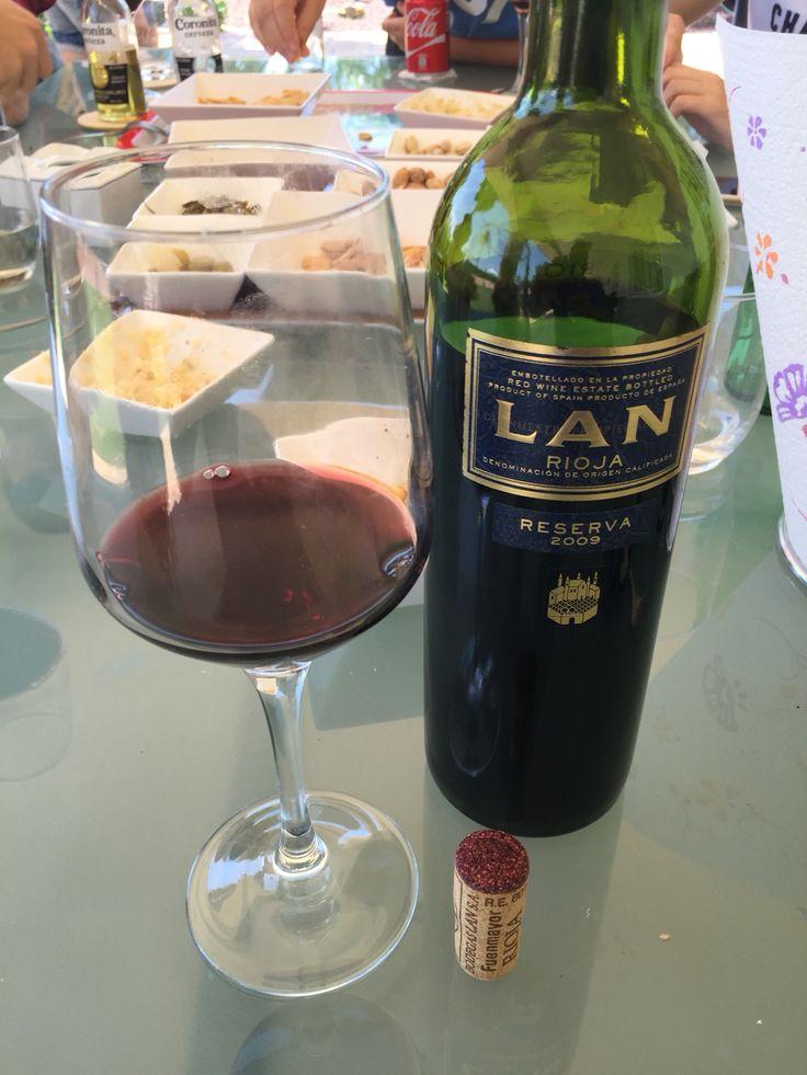 Vino tinto LAN reserva DO Rioja