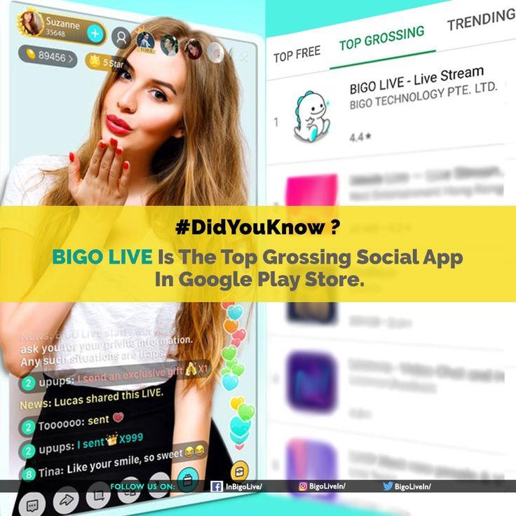 Bigo live app play streaming live