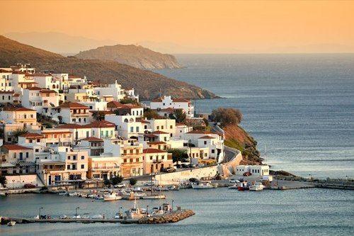 Μπατσί Άνδρου ~ Mpatsi, Andros island
