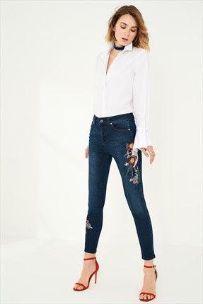 Trendyolmİlla Marka  Kadın Trendyolmilla Blue Nakışlı Yüksek Bel Skinny Jean || Blue Nakışlı Yüksek Bel Skinny Jean TRENDYOLMİLLA Kadın                        http://www.1001stil.com/urun/4813352/trendyolmilla-blue-nakisli-yuksek-bel-skinny-jean.html?utm_campaign=Trendyol&utm_source=pinterest