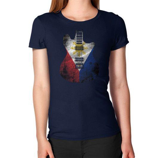 Guitar Flag Philippines Women's T-Shirt