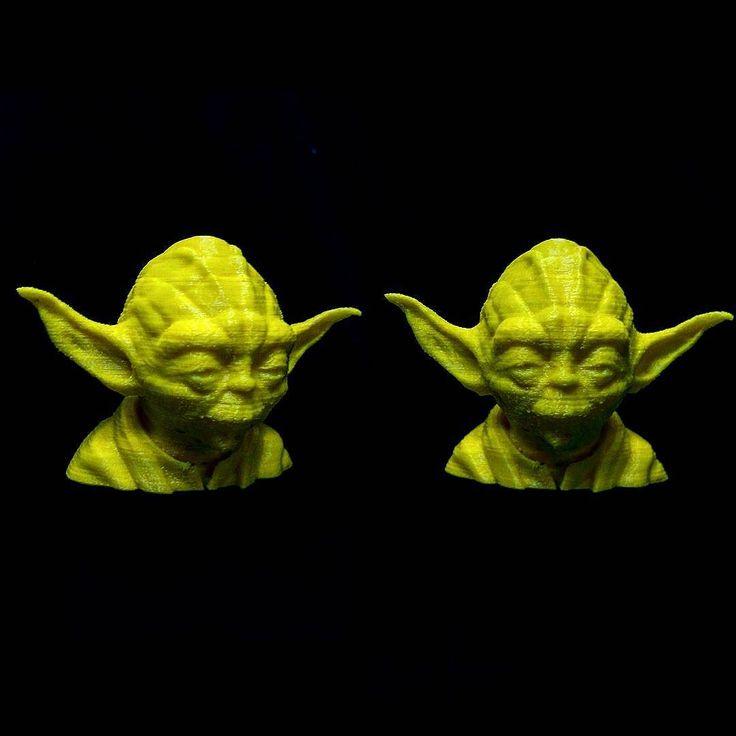 3D printer ile 2-3 saatte elde edilen  ince ince işlenen bu mükemmel büst hediyeleri için Türk İşi Mühendisliği ekibine teşekkür ederim. Bir Star Wars hayranına verilebilecek en güzel hediyelerden biri bayıldım! #inovasyonhaftası #inovasyonhatırası #starwars #yoda #3dprint #3dprinting by pulsefirezreal