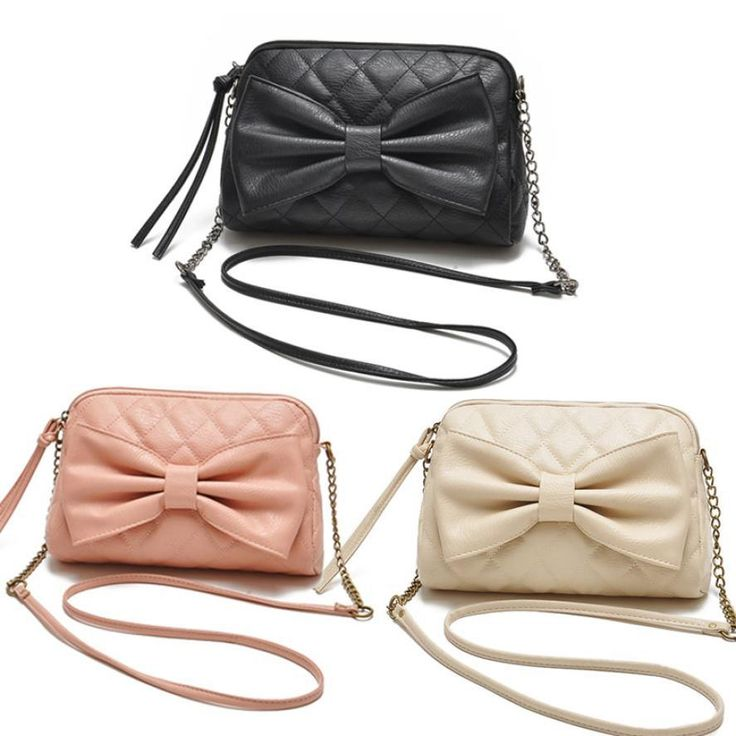 $6.74// Bow Cross body bag// Multiple colors available// Delivery: 2-6 weeks