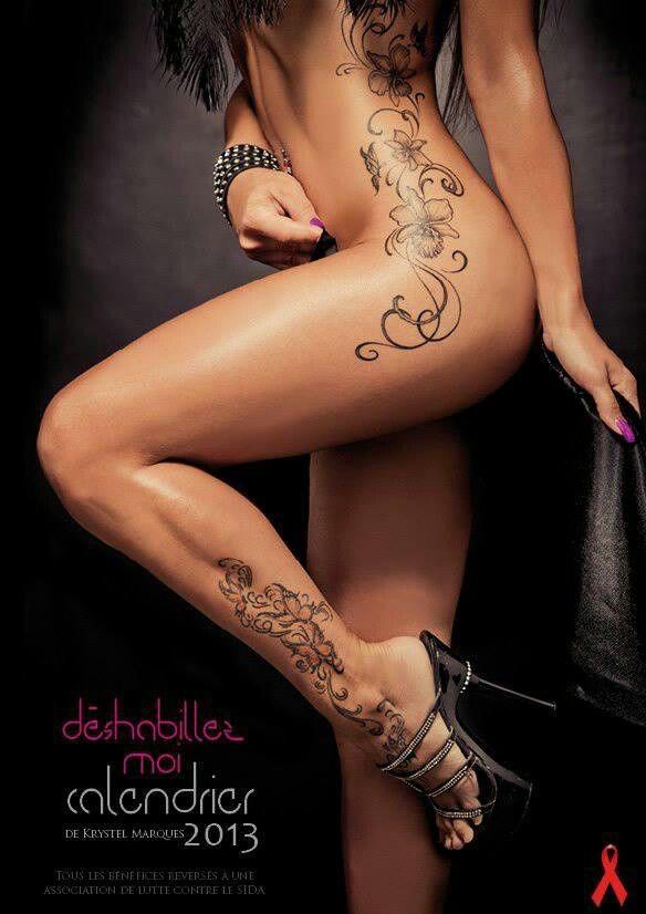 I like the swirlys on her side