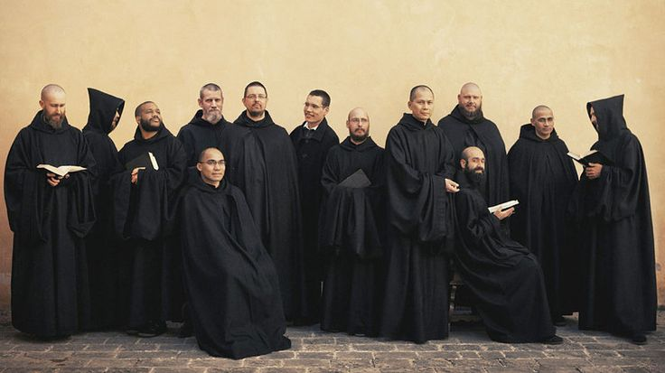 The monks of Norcia, Italy have recorded their first album, Benedicta. Christopher McLallan/Decca