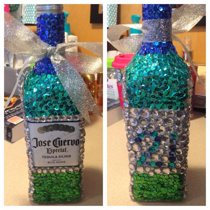 CAN SOMEONE BEDAZZLE A BOTTLE FOR ME PLEASE!!!
