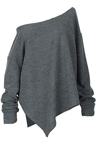 Cupshe Fashion Womens Grey Multiway Irregular Top S >>> Check this awesome product by going to the link at the image.(This is an Amazon affiliate link)