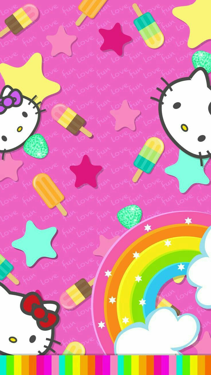1498 best images about Hello Kitty Wallpapers on Pinterest