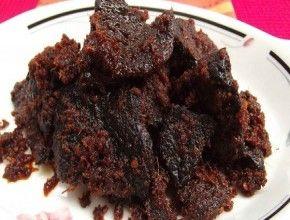 Resep Masakan: Rendang Paru | Menu ini adalah salah satu sajian yang biasanya disajikan di Hari Raya Idul Fitri.