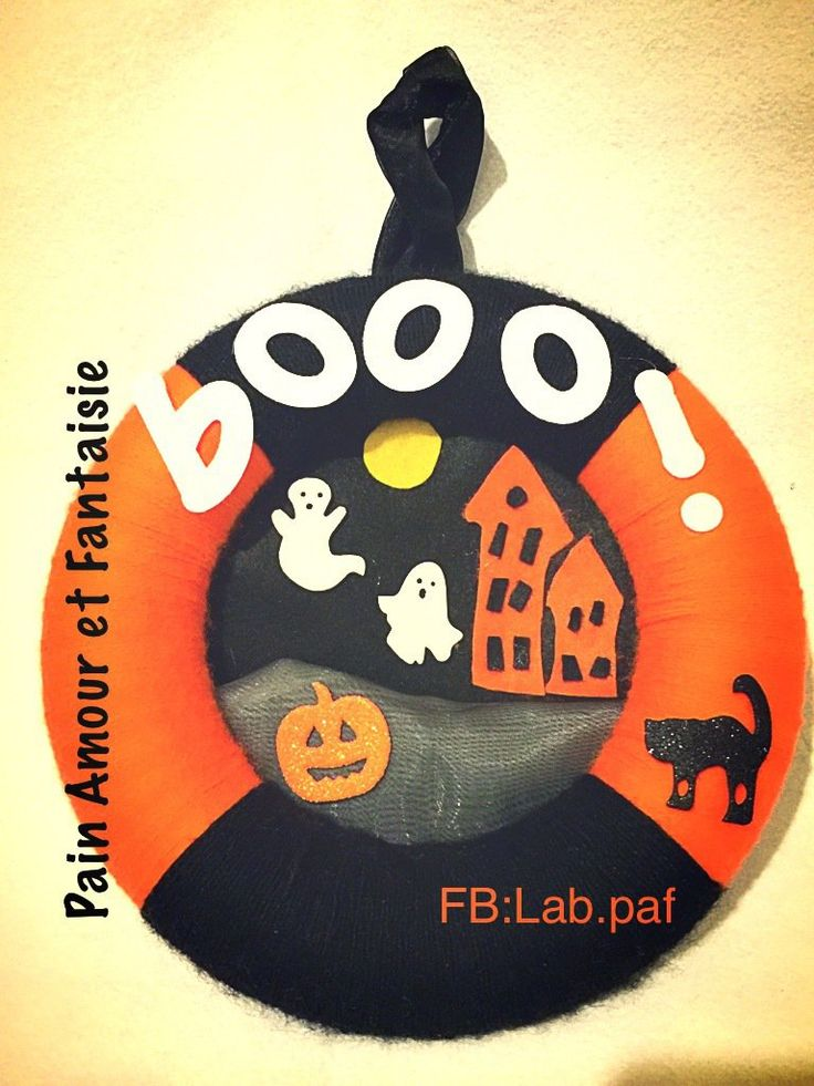 Ghirlanda di Halloween , by Pain Amour et Fantaisie, 29,90 € su misshobby.com
