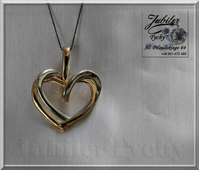 Złoty wisiorek ❤️ serce - przeplatane serduszka 💞 #Złoty #wisiorek #serce z #białego #zółtego #złota #przywieszki z #serduszkami #Białe #żółte #Złoto #Au585 #Gold #heart #Złote #wisiorki #serca #złota #przywieszka #biżuteria na #prezent #jubilertychy #Jubiler #Tychy #Jeweller #hearts #Tyski #Złotnik #Zaprasza #Promocje:  ➡ jubilertychy.pl/promocje 💎