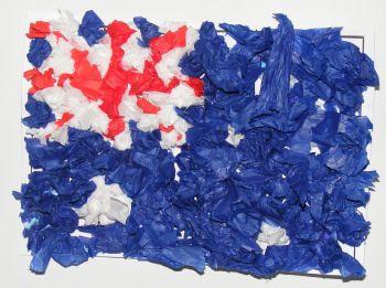 Australian Flag Collage