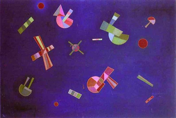 FIXED FLIGHT, 1932 Oil on canvas Private collection #kandinsky #kandinski #kandinskij #abstraction #abstractart http://www.wassilykandinsky.net/work-261.php