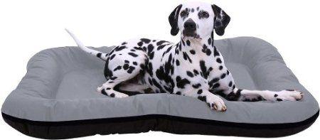 In und Outdoor Hundebett XXL 117 x 86cm Braun Eckig Wasserdicht Hundesofa Hundekorb: Amazon.de: Haustier