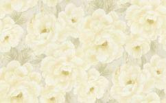 tapet pentru dormitor flori galbene 928525