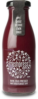 This cold-pressed juice is awesome before a workout!