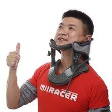 Dispositivo de tracción cervical fijo vértebra cervical aparato de tracción apoyo médico nee fuerza neckguard(China (Mainland))