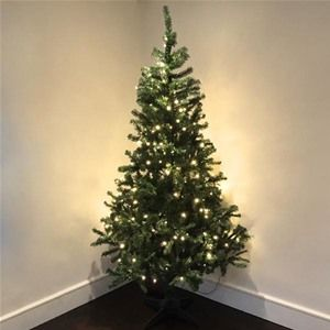 Christmas Factory Hudson Artificial 7ft Christmas Tree with LED Lights