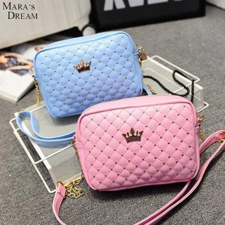 $8.89 (Buy here: https://alitems.com/g/1e8d114494ebda23ff8b16525dc3e8/?i=5&ulp=https%3A%2F%2Fwww.aliexpress.com%2Fitem%2FFashion-Brand-Mara-s-Dream-Women-Cute-Messenger-Bag-Small-Woman-Flap-Handbag-Thread-Candy-Color%2F32672433433.html ) Fashion Brand Mara's Dream Women Cute Messenger Bag Small Woman Flap Handbag Thread Candy Color Shoulder Bag with Crown Rivet for just $8.89