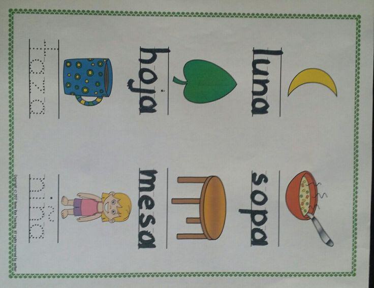 Esto es genial para usar como una idea de lectura para practicar la escritura de cartas. Los estudiantes trazan las palabras del vocabulario con un marcador de borrado en seco. Puede laminar las páginas y hacer un folleto. Las categorías incluidas son: los animals, los colores, los números, el clima, la escuela, la comida, mi familia, los ayudantes de la comunidad, las palabras de alta frecuencia, y sílibas.