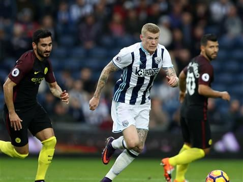 James McClean signs new contract with West Bromwich Albion