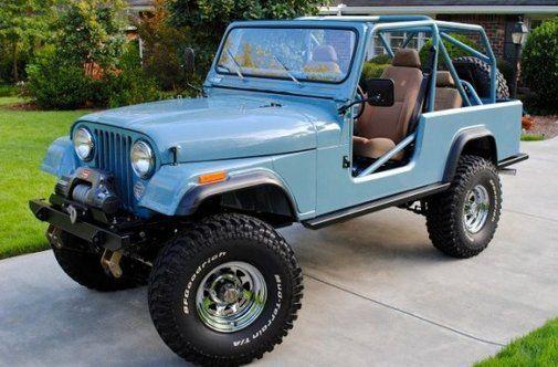 Jeep CJ8 Powder Blue