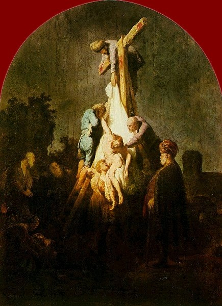 """Rembrandt - """"The Descent from the Cross"""" 