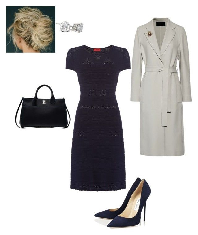 """""""Work"""" by cgraham1 on Polyvore featuring HUGO, Jimmy Choo, Chanel, Calvin Klein Collection and Gucci"""