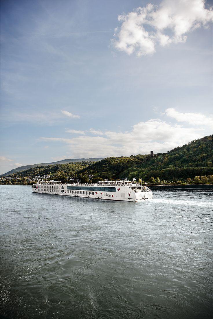Los cruceros fluviales por el Rhin son la manera más cómoda de viajar por Europa.