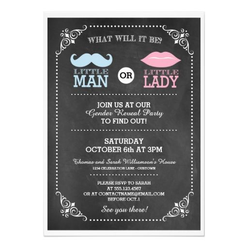 17+ Best Images About Gender Reveal Party Invitations On