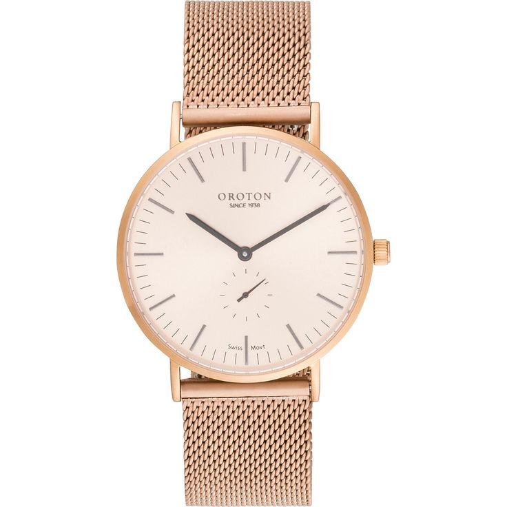 Orbit Watch in Rose Gold // Oroton