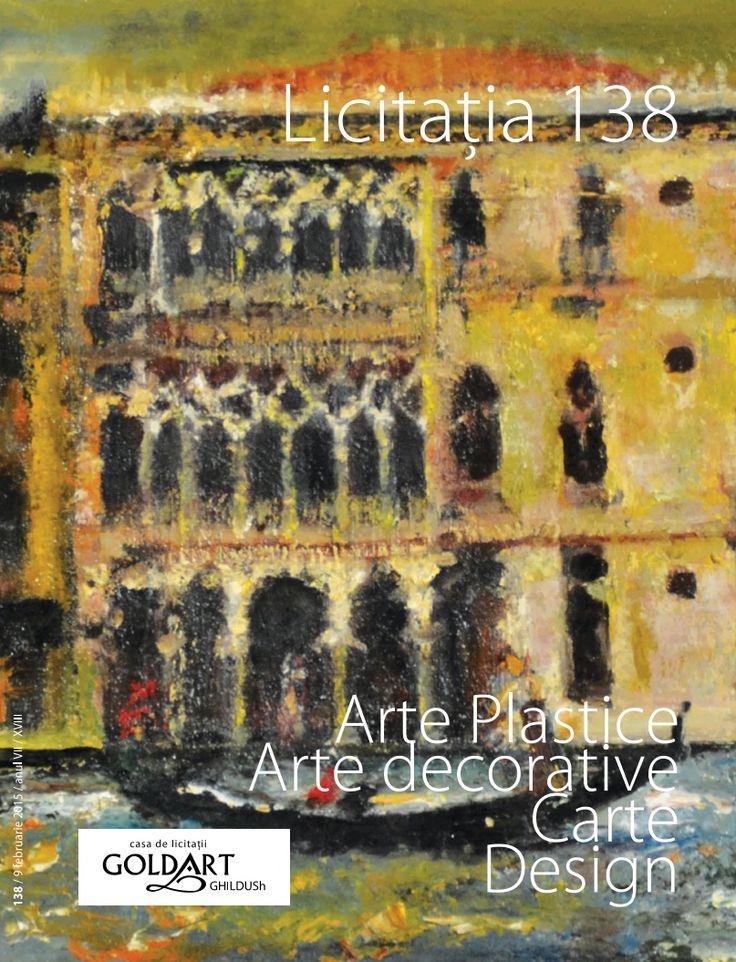 Catalog GoldArt Forma, Volum si Culoare in arta moderna romaneasca si europeana Licitatia cu nr. 138 din 2015! Set platouri pentru salata din patru piese.